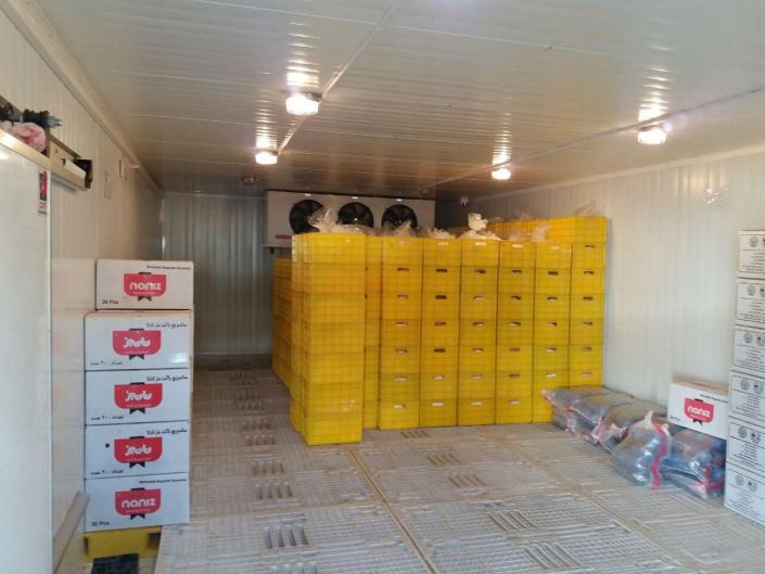 ساخت سردخانه مواد غذایی